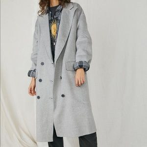 Free People Adore You Oversized Wool Coat - S